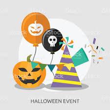 halloween event halloween event conceptual design stock vector art 656962640 istock
