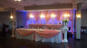 vaughan wedding decorations reception ceremonies and events