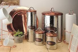 copper canisters kitchen canisters amazing copper canisters kitchen ceramic kitchen