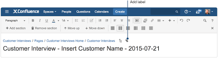 creating insightful customer interview pages atlassian documentation