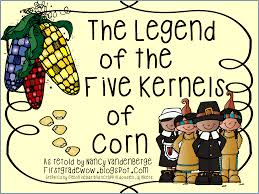 thanksgiving sequencing activities first grade wow the legend of the five kernels of corn