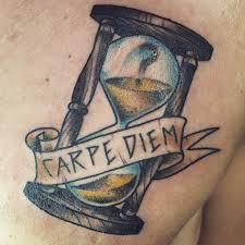 25 fascinating carpe diem tattoo design with meaning for men and women