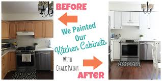 how to paint kitchen cabinets happy home fairy