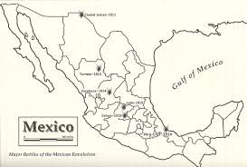 Leon Mexico Map by Map Of The Major Battles Of The Mexican Revolution 1910 1920