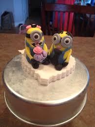 minion wedding cake topper minion wedding cake topper cakecentral