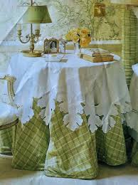 Cloth Table Skirts by 64 Best Tablecloth Skirt U0026 Runner Inspiration Images On Pinterest