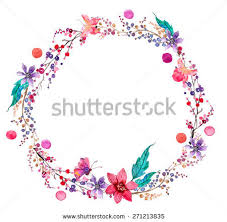 flower wreath flower wreath free vector stock graphics