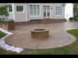 Stamped Concrete Backyard Ideas Amazing Of Concrete Patio Ideas 17 Best Ideas About Stamped