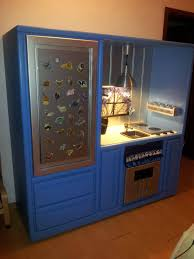 Diy Play Kitchen From Entertainment Center 17 Best Images About Play Kitchen Diy From Entertainment Center On