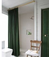 how high should a shower rod be hung doityourself shower curtain