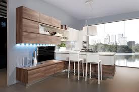 cuisine bois gris cuisine blanc laque et bois gris id es de d coration capreol us