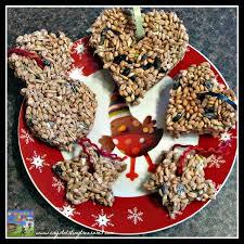 peanut free birdseed cookies