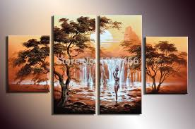 painting for home decoration hand painted 4 piece wall art canvas wall paintings home decor