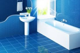 blue and white small bathroom images about feature walls on shower