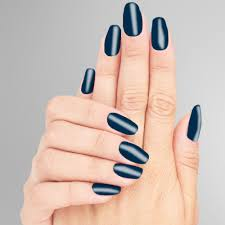 dark navy blue formaldehyde free nail polish