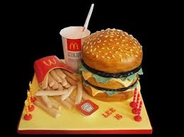themed cakes 27 fast food themed cakes that are like works of