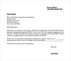 College Application Letter For Leave 7 College Letter Of Intent Sles Exles Formats Sle
