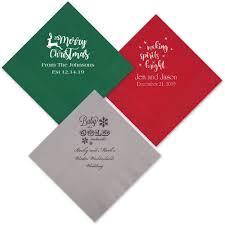 dining room monogram paper napkins custom cocktail napkins