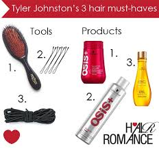 must have hair my three hair must haves tyler johnston hair romance