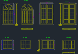 doors and windows cad blocks free cad block and autocad drawing