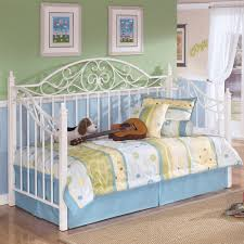 bedroom cozy daybed design ideas with white iron daybed frame