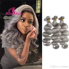 can ypu safely bodywave grey hair brazilian human hair body wave grey hair weave 100g 7a brazilian