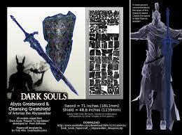 dark souls halloween costume abysswalker weapons pdo pdf cursed greatsword by eutytoalba