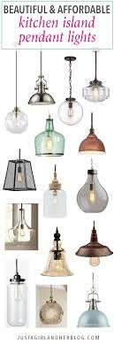 light pendants for kitchen island beautiful and affordable kitchen island pendant lights just a