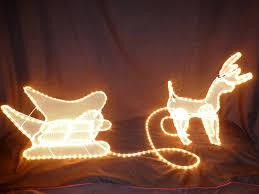 Outdoor Christmas Decorations Reindeer And Sleigh Christmas Decorations Reindeer And Sleigh Light Led Lights