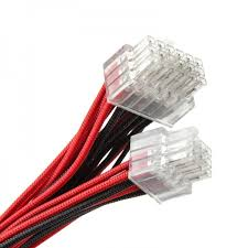super flower cable kit black red zuad 603 from wcuk online