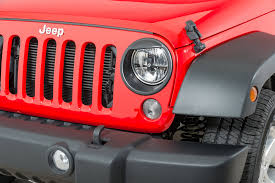 jeep angry headlights logan laboratories 100010 headlight eyebrow trim rings in black