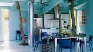 cuisine bleu petrole bleu déco peinture bleue bleu ciel bleu turquoise côté maison