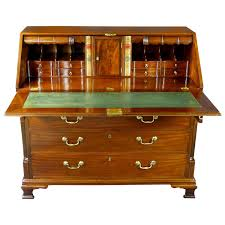 Bedroom Furniture With Hidden Compartments 18th Century Georgian Bureau Desk With Secret Compartments For