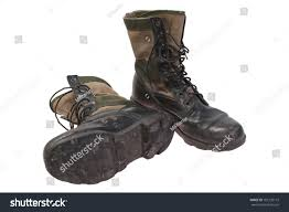 used motorcycle boots old used boots vietnam war period stock photo 101235115 shutterstock