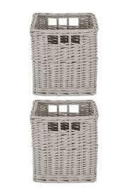 buy bathroom storage grey baskets from the next uk online shop