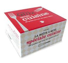 quizz cuisine la boîte à quizz spécial cuisine coffret kilien stengel achat