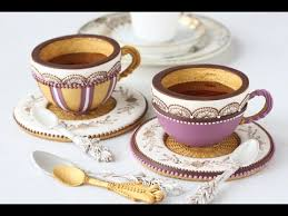 how to make 3 d cookie teacups