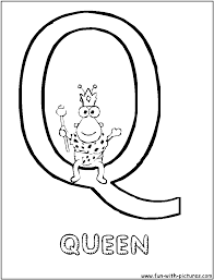 letter q coloring page trendy letter buddies coloring worksheet q