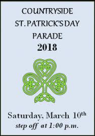 st patrick u0027s day parade u2013 march 10 2018 u2013 the city of
