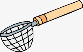 dessin ustensile de cuisine vecteur de dessin de passoire passoire de dessin vectoriel