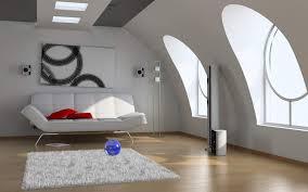 Modern Dormer Modern Dorm Ceiling Attic Room With Curve Dormer Window Interior