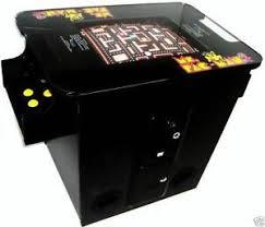Ms Pacman Cabinet Ms Pacman Arcade Gaming Ebay