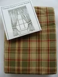 Country Plaid Curtains Primitive Curtains Cheap Bethu0027s Country Primitive Home Decor