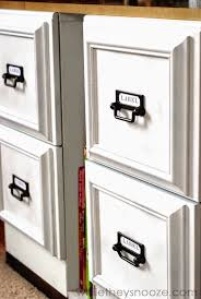 painting a file cabinet glue picture frames to file cabinets instant upgraded look diy