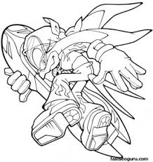 coloring pages sonic printable sonic the hedgehog wave coloring pages printable