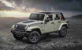 Jeep Wrangler Jeep Wrangler Rubicon Recon Beefier Off Road Gear More Equipment