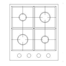 bloc autocad cuisine plaque de cuisson bloc cad gratuit cadblocksfree cad blocks free