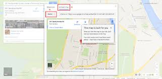 How To Plan A Route On Google Maps by How To Change The Google Map In The Contact Us Page Multi