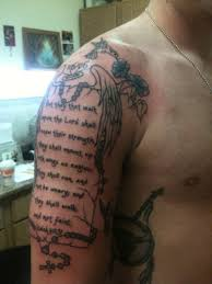 half sleeve picture scripture tattoos design idea for and