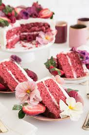 pink velvet cake recipe easy way to decorate it sugar and